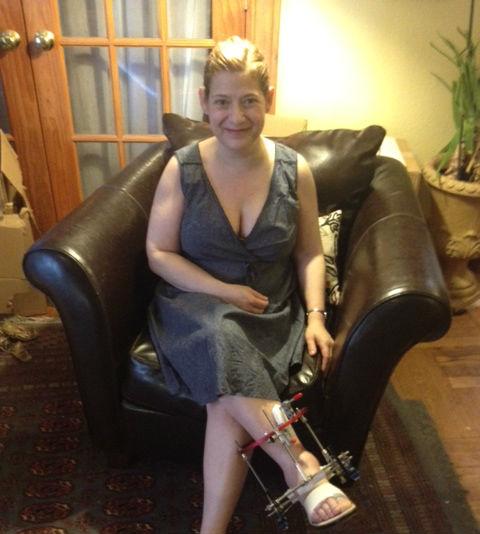 Christine Buescher in the photo 1
