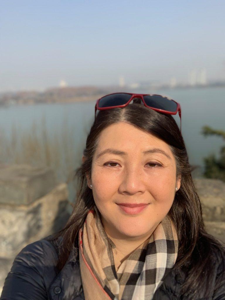 Sumie Okazaki in the photo 1