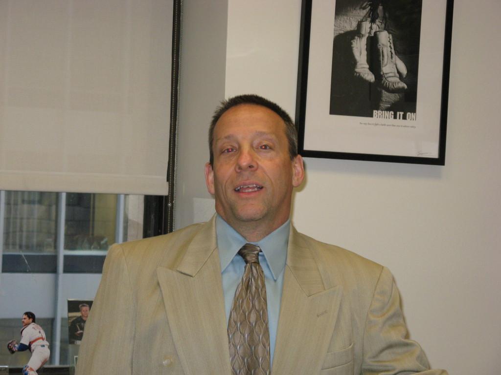 Robert Braccia in the photo 1