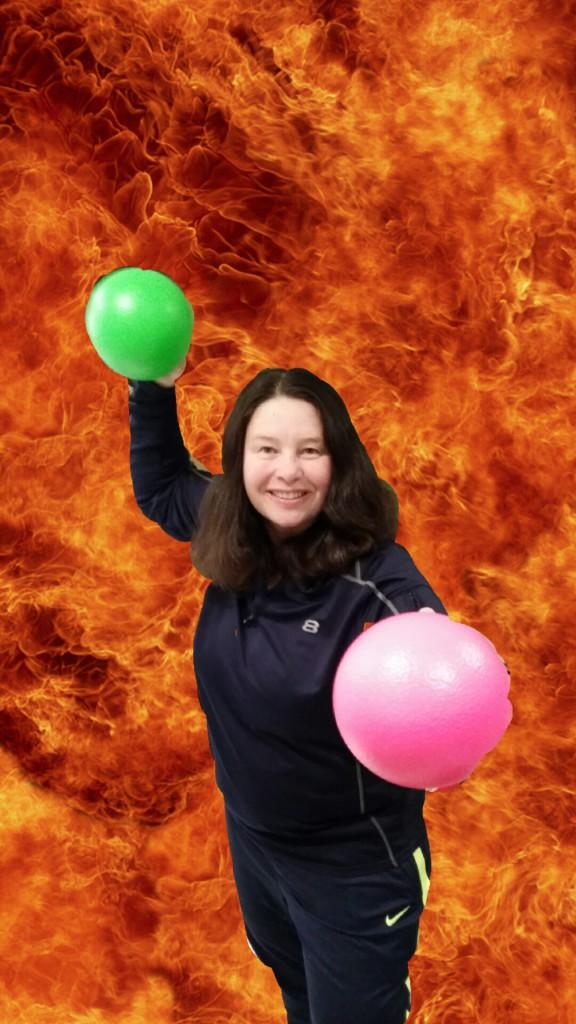 Karen Flynn in the photo 1